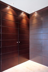 stylish wooden doors of wardrobe furniture