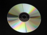 cd/ software. abstract, light/shade poster
