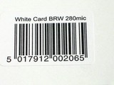 bar code/ id of a product poster