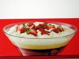 trifle. food/confectionery/sweet poster