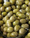 tasty olives poster