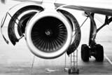 aircraft engine maintenance poster