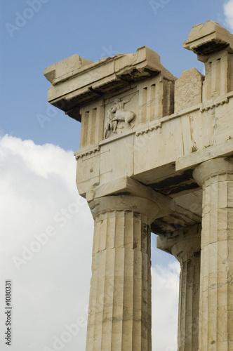 parthenon, detail