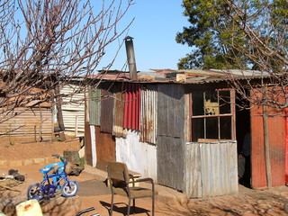 living in poverty in africa