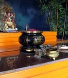 buddhist altar poster