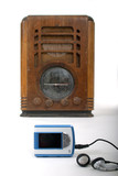 old radio new mp3 player 1 poster
