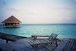 hut at maldives
