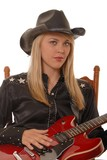cowgirl musician five poster