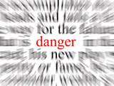 danger!! poster