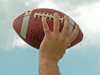 passing a football
