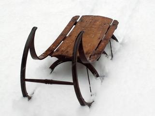 vintage sled