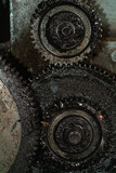old greasy gears
