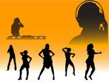 clubbing design poster