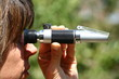 Leinwandbild Motiv réfractomètre