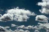 cloud on dramatic sky poster