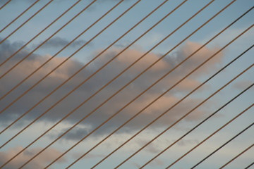nubes con cables