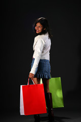 successful shopping spree