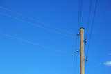 telegraph wires poster