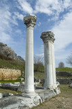 greece, columns in ancient philippi