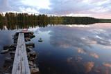 Jezioro w Finlandii
