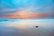 canvas print picture sunset landscape