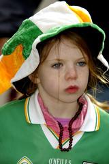 petite fille irlandaise