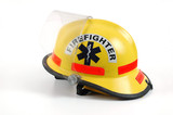 firefighters helmet poster