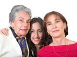 three generation family poster