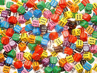 dès à jouer - dice game