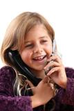 communication téléphone poster