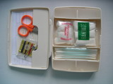 mini emergency first aid kit poster