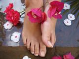 foot bath poster