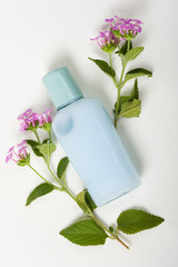 blue shumpoo, fresh of nature