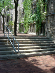 university corridor