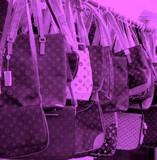 pink handbags poster