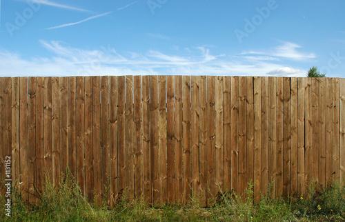 pine fence - 1131152