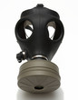 gas mask isolated + shadow