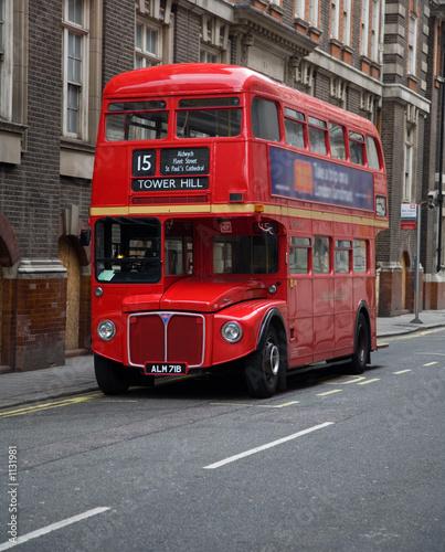 Londyn piętrowy autobus