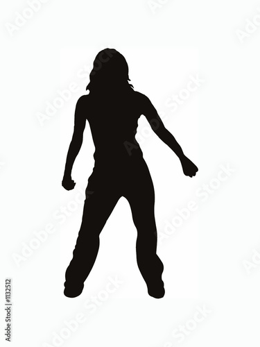 hiphop dancer - female series #1