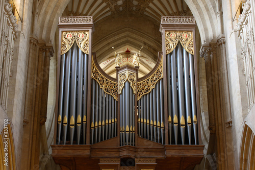 wells cathedral organ
