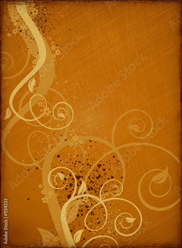 canvas print picture retro grunge background