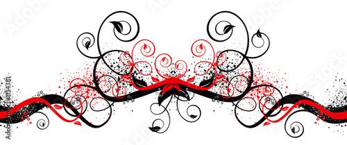 Leinwandbild Motiv swirls