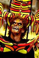 personage de carnaval
