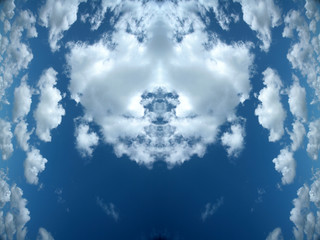 double sky