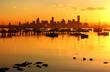 golden dawn over melbourne