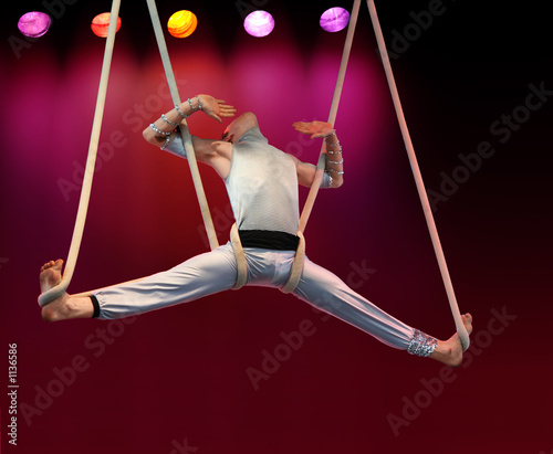 acrobat on stage