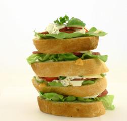 high sandwich