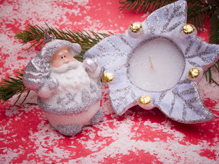 nikolaus in candle