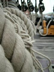 hms victory ship ropes