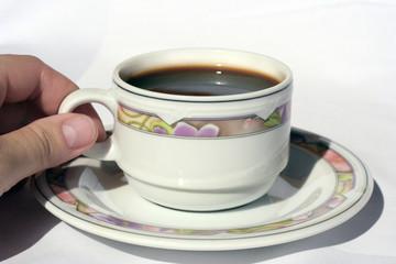prendre un café